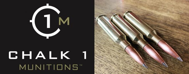 Chalk 1 Munitions offers several flavors of subsonic 6.5 Creed ammo.