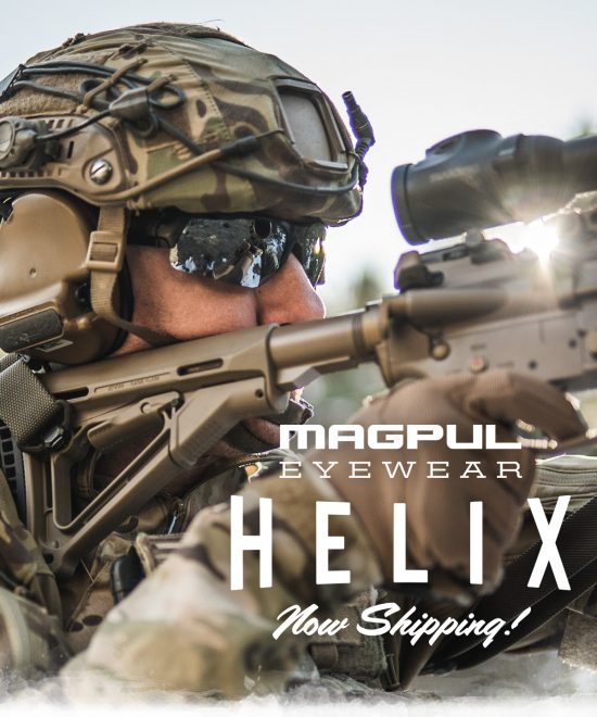 New eye pro from Magpul: the ballistic-rated Helix.