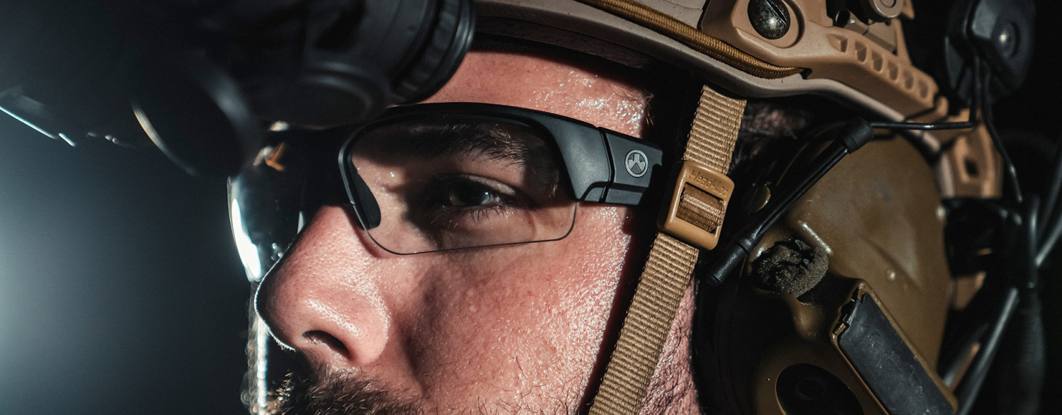 Anytime you go shooting, don't forget to protect your eyeballs!