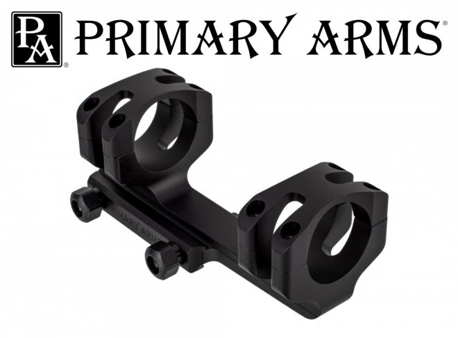 Primary Arms introduces new 30mm and 34mm mount options.