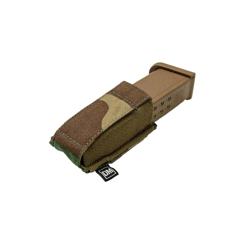 "The single pistol mag pouch is ""designed to be a low-profile option for magazine retention""."