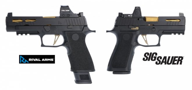 Custom shop Rival Arms is expanding their product offerings to support Sig P320 and P365 handguns.
