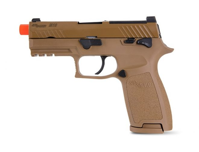 Sig Sauer introduces their new PROFORCE airsoft training tool for the M18.