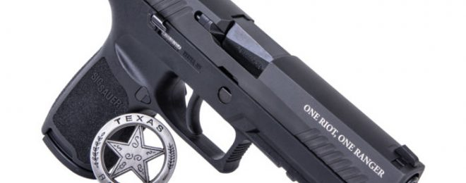 Sig Sauer's new limited-edition Texas Ranger P320.