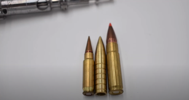 The 308 SCA Semi-Caseless  Ammunition by Wild Arms Research and Development