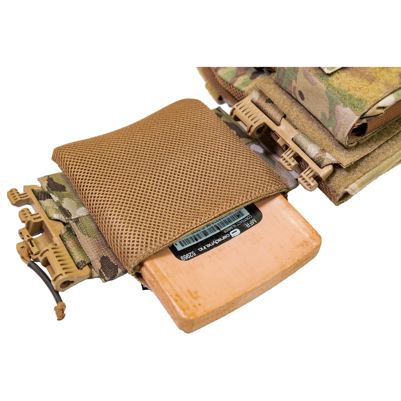 If you wear body armor and have to include side plates, you may find these new side plate bags comfortable.