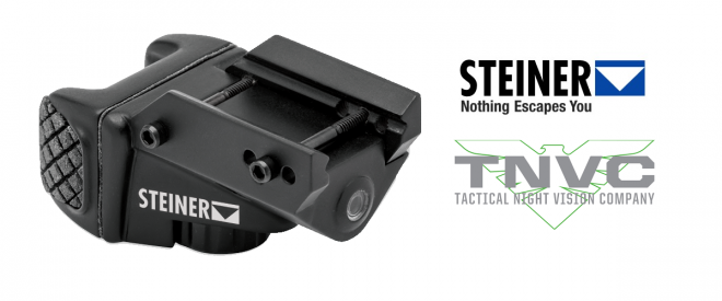Available now from Steiner and TNVC: the TOR Mini pistol laser.