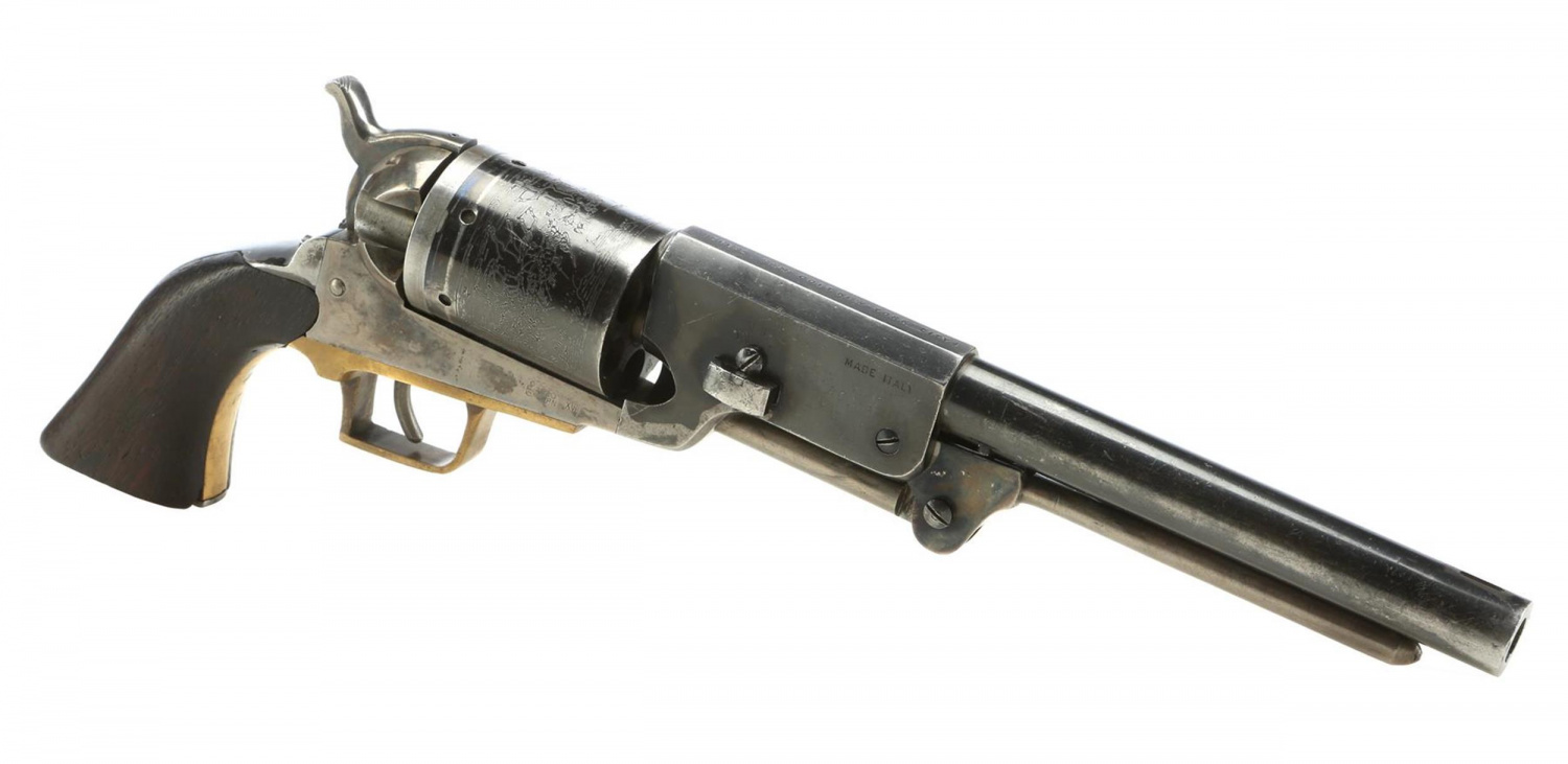 A look at the other side of this notable Colt Walker prop.
