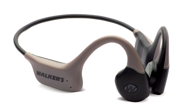 Introducing the Raptor bone conduction headset, new from Walker's.