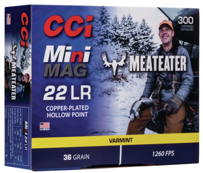 CCI Introduces their MiniMag MeatEater line of Rimfire Ammunition