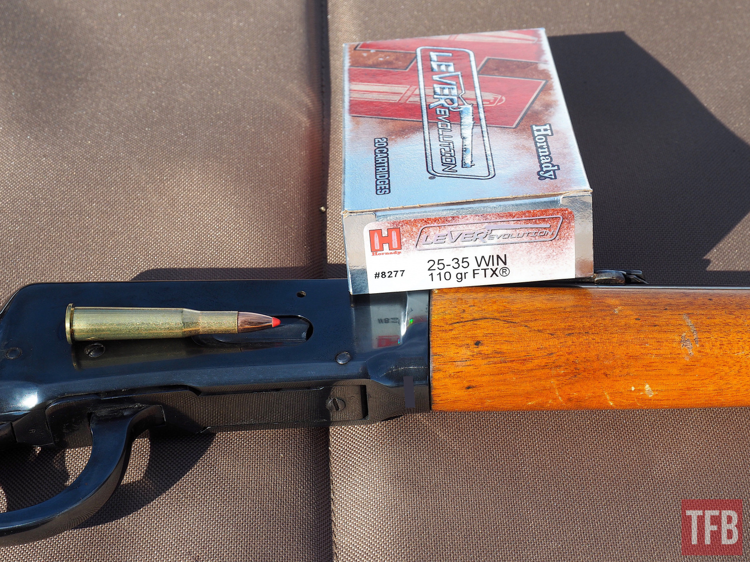 Hornady .25-35 Winchester LEVERevolution
