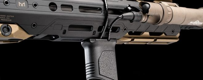 Strike Industries Angled Vertical M-LOK Grip with Cable Management Feature (26)