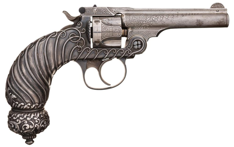 Tiffany & Co Smith & Wesson .32 Double Action 4th Model Revolver