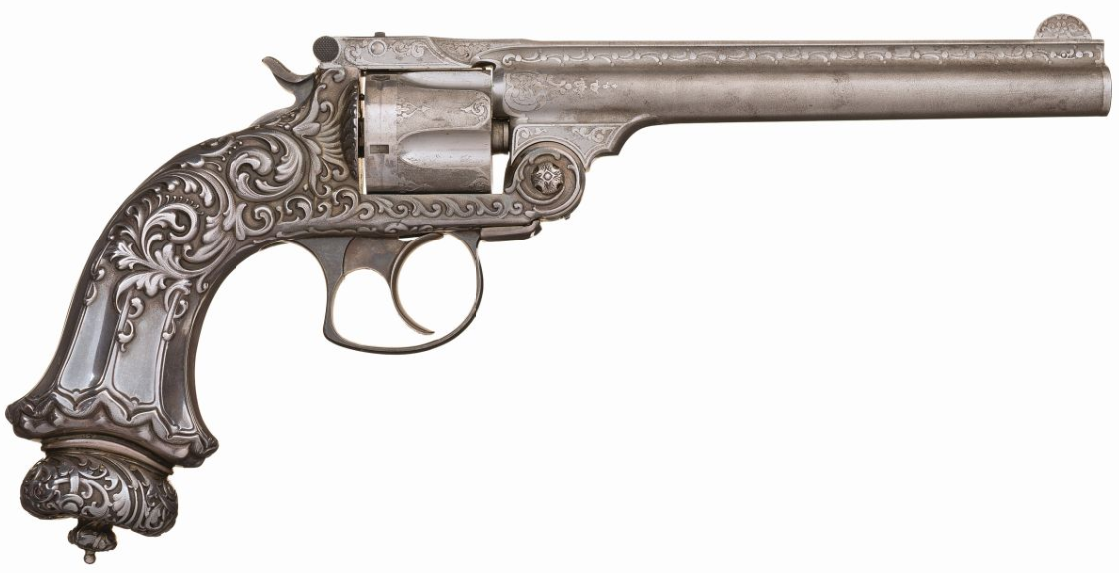 Tiffany & Co Smith & Wesson .38 Double Action 3rd Model Revolver