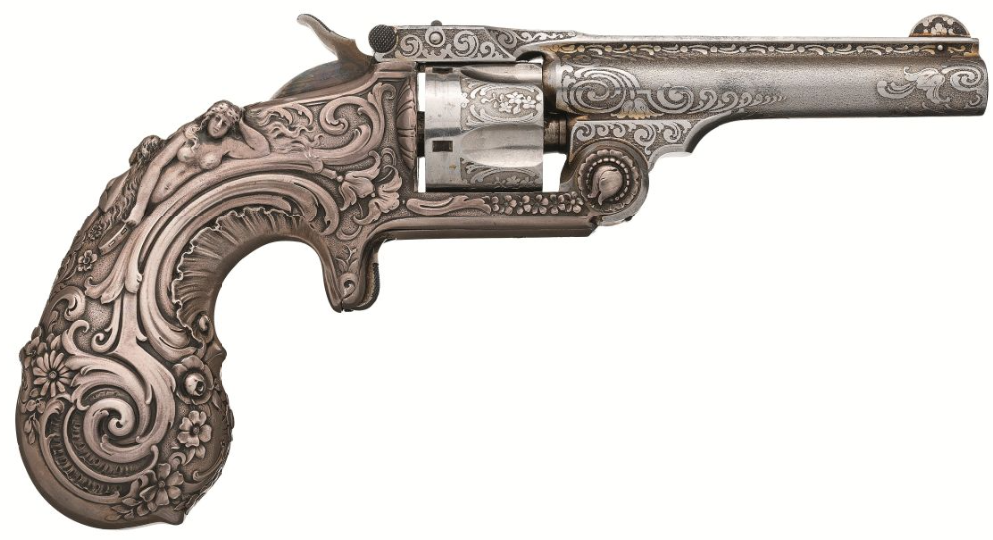 Tiffany & Co. Smith & Wesson .32 Single Action Revolver