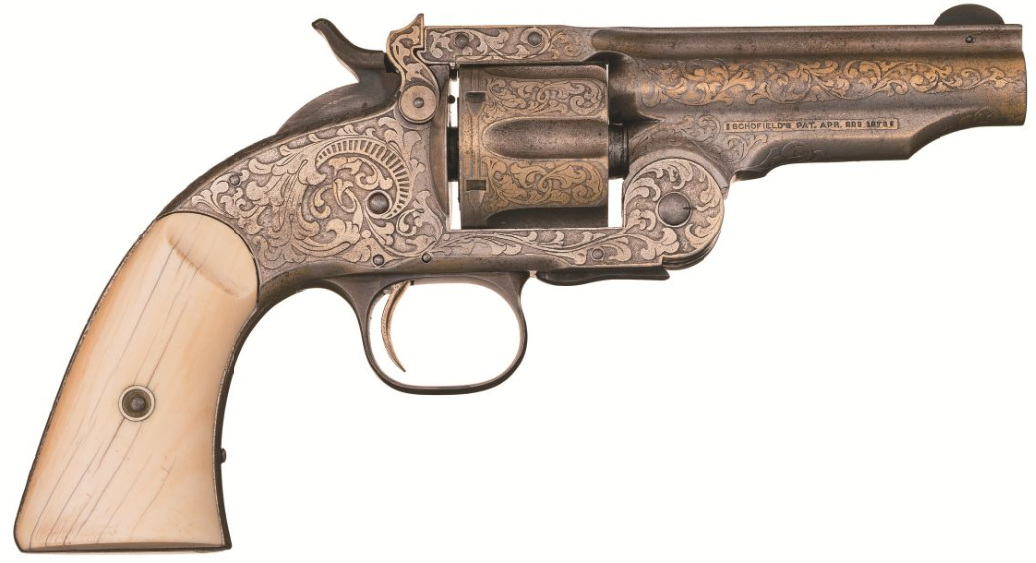 Tiffany & Co. Smith & Wesson Schofield Revolver