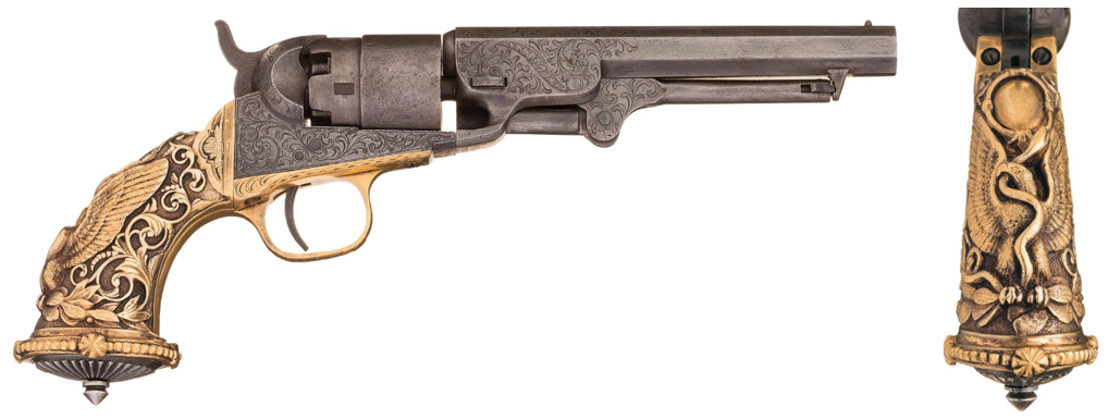 Tiffany Colt Grip - Mexican Eagle
