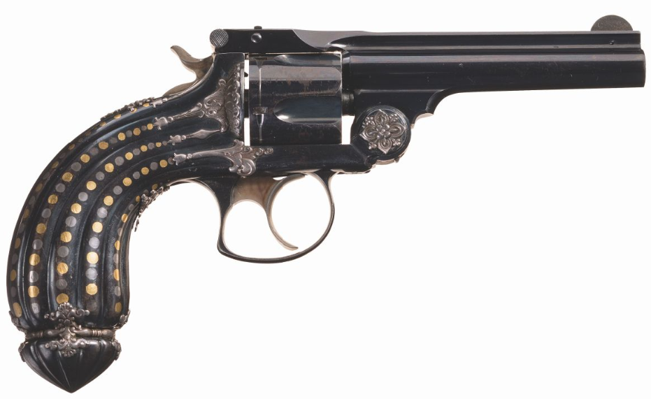 Tiffany Smith & Wesson .38 Double Action Revolver