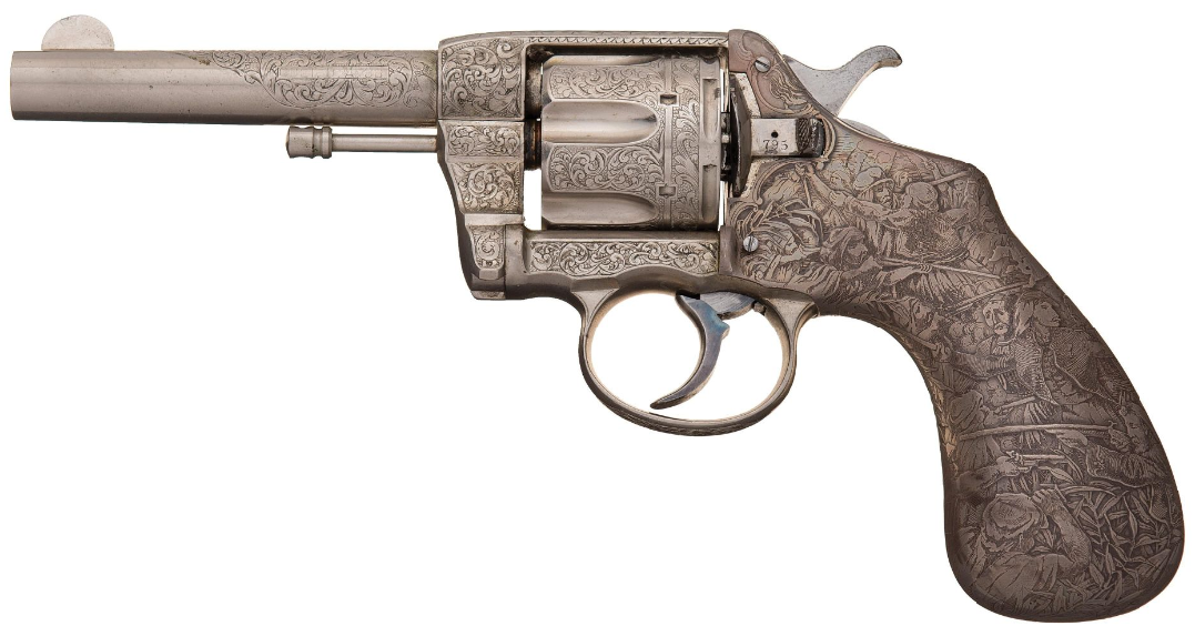 Wheelgun Wednesday - Tiffany & Co Revolvers - Tiffany Revolvers - Colt Model 1895 (2)