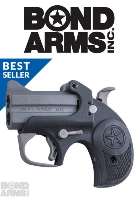 "Derringer-dealing Bond Arms has issued a press release declaring their Backup model as a ""best seller""."