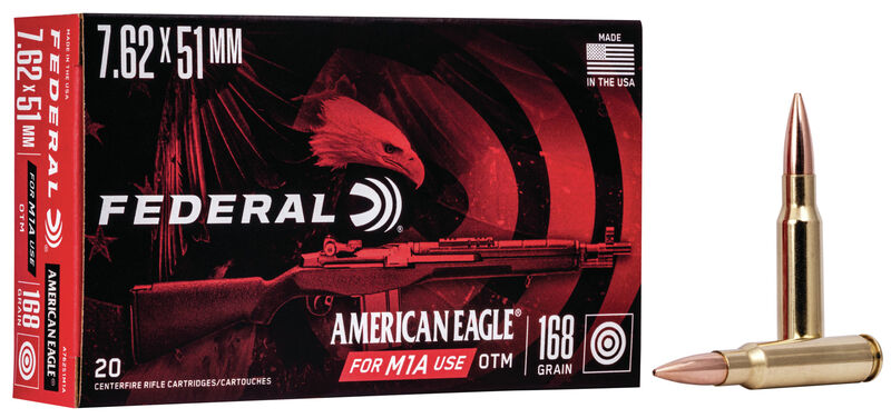 Federal is no stranger to 7.62 loads, and makes this one that is designed for the venerable M1A.