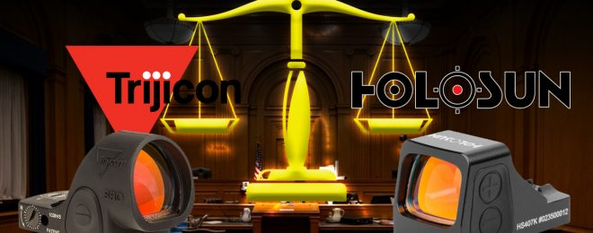 Trijicon Sues Holosun Technologies Over Alleged RMR & SRO Patent Infringement