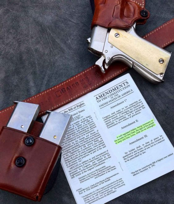 Galco Gunleather recommends carrying extra ammo, and they offer a menu of options to this end.