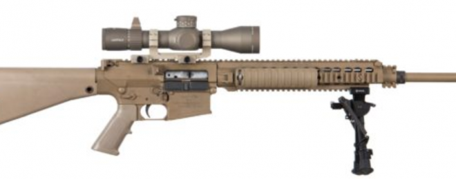 Leupold Mark5hd tan