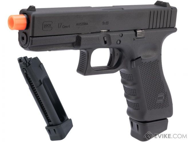 Glock's Special Licensed Military & Law Enforcement Only Airsoft Pistols