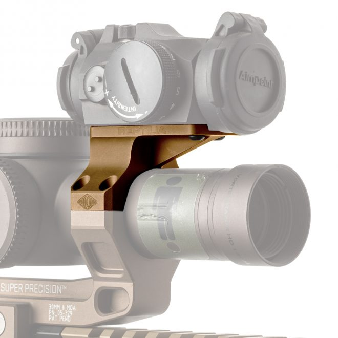 Introducing Reptilia's new mount for Aimpoint Micro series and similar optics.