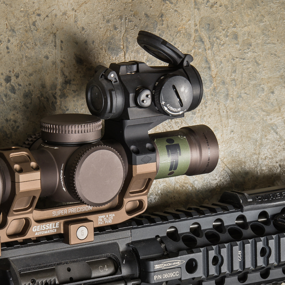 This new ROF-90 is optimized for use with Geissele's Super Precision 30mm scope mount.