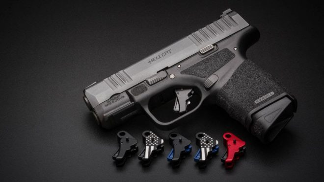 New Action Enhancement Trigger for the Springfield Hellcat by Apex Tactical