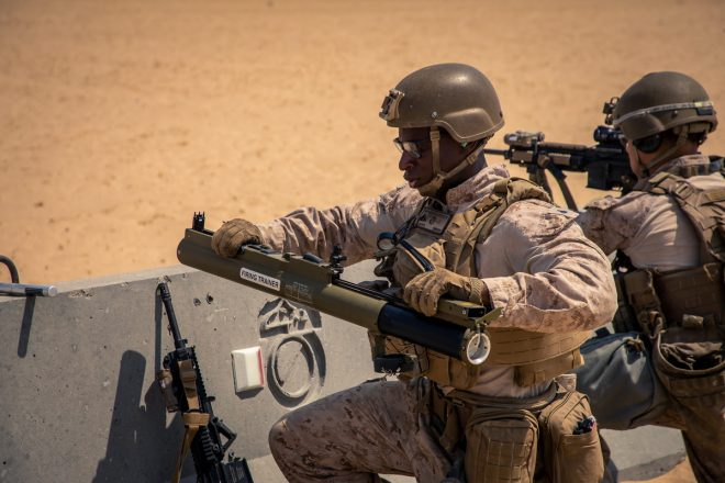 POTD: U.S. Marines with the M72A7 Light Anti-Tank Weapon