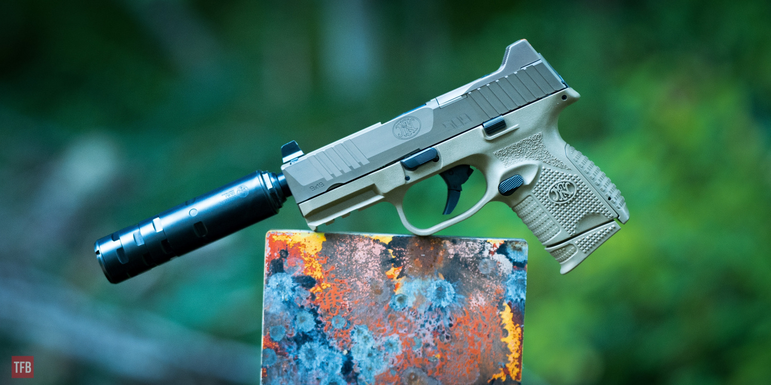 SILENCER SATURDAY #141: FN 509 Compact Tactical - 9mm Quiet Time