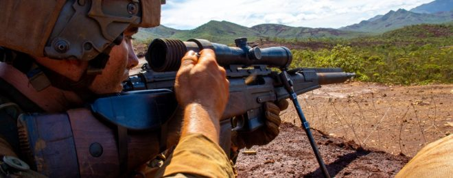 FR-F2 Sniper Rifle in New Caledonia