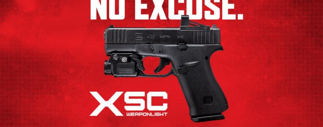 The SureFire XSC - 350 Lumens For Your Micro-Compact Handgun