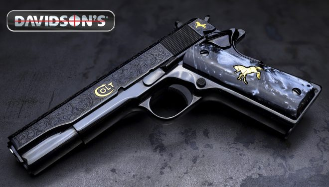 Davidson's, Colt, and Baron Engraving have announced a new 1911 tribute to Samuel Colt.