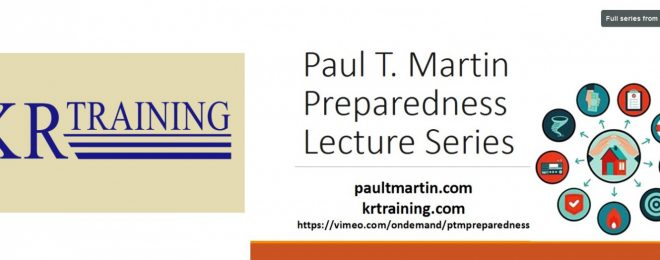 Firearms school KR Training and preparedness author Paul T. Martin have teamed up for a virtual preparedness conference.