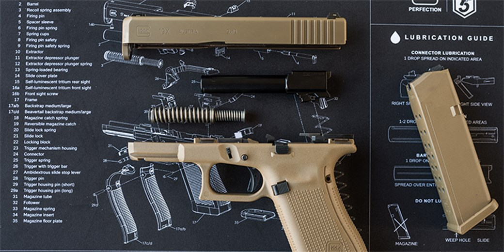 Glock is very protective of their intellectual property, which is understandable.