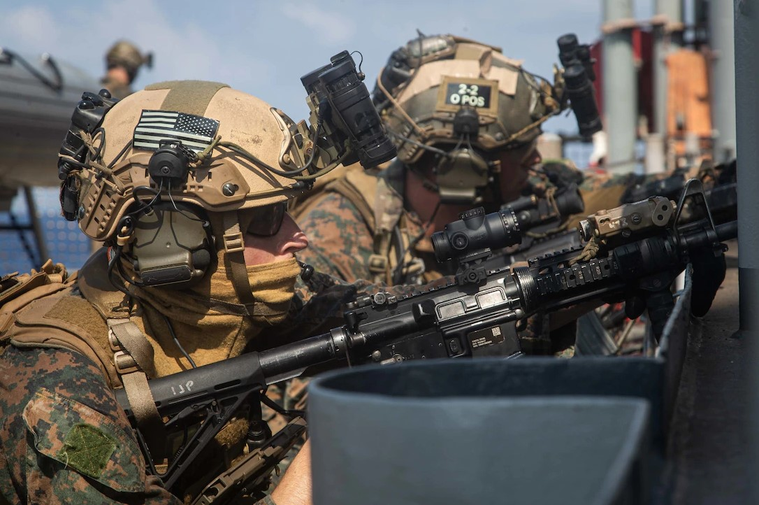The Marine Corps takes pride in their tradition of rifle mastery.
