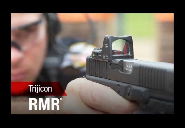 The RMR is the OG pistol red dot, and one of the two optics that was specified in the lawsuit.