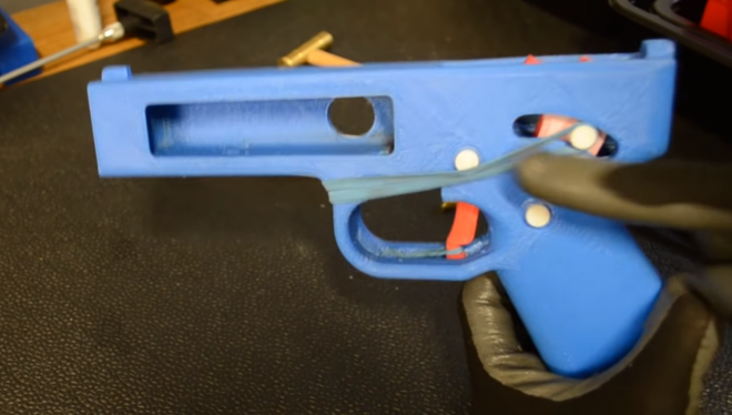 The Rimfire Report: The Songbird 3D Printed Pistol with a Nylon Barrel