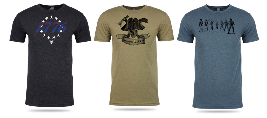 Swampfox Optics' branding includes plenty of homage and references to the American Revolution.