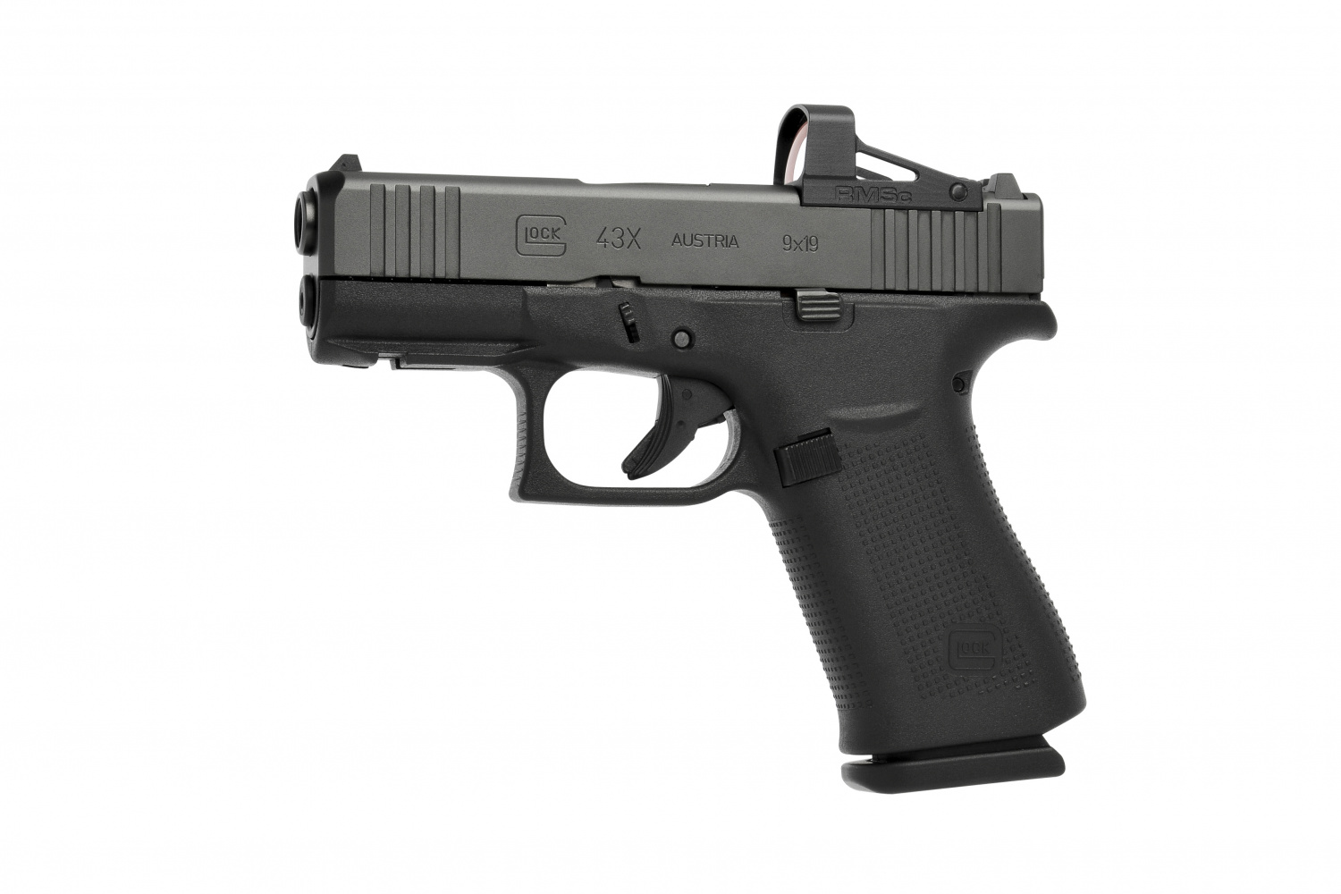 The Glock edition RMSc was purpose-built for the G43 and G48 MOS pistols, but will also fit others that use the same footprint.