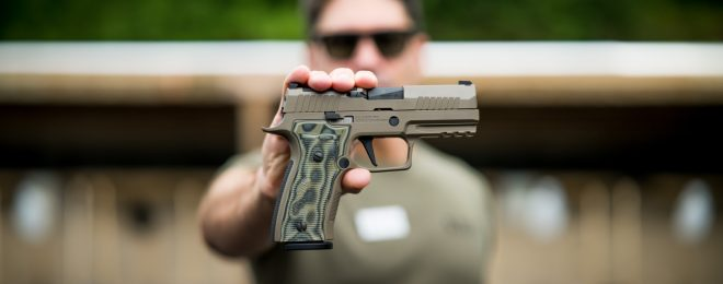 NEW RELEASE: SIG SAUER Custom Works P320 AXG Scorpion