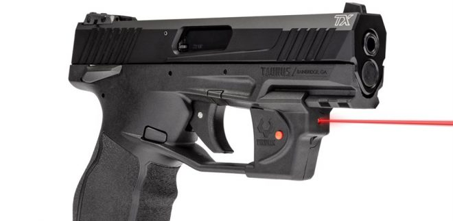 Taurus Introduces the Viridian Essential Red Laser Sight for The TX22