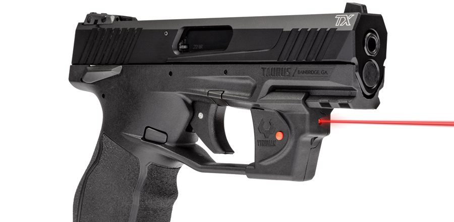 Taurus Introduces the Viridian Essential Red Laser Sight for The TX22The Firearm Blog