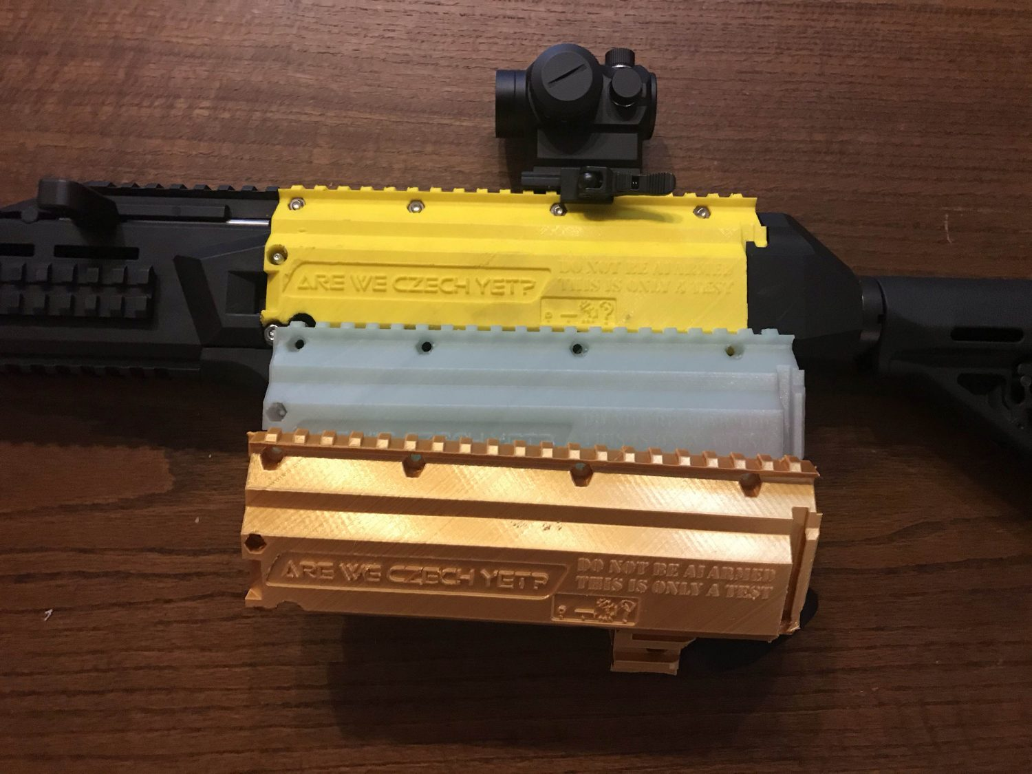 The AWCY 3D Printed Scz0rpion - Is a 3D printed Sub Gun Viable?