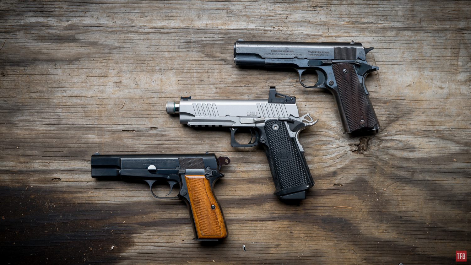 SILENCER SATURDAY #148: Quiet Time With The 9mm Bul Armory Double Stack 1911