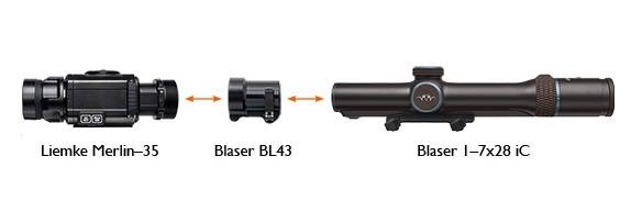 Blaser Germany Release a Thermal Clip-On
